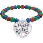 Bracciale elastico albero della vita  Colors Life multicolor