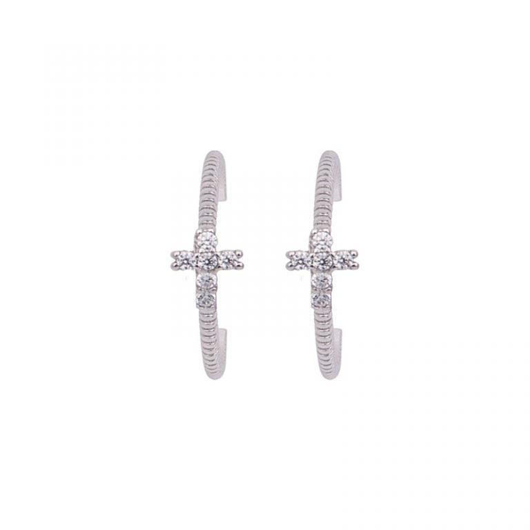 Ariette orecchini argento zirconi