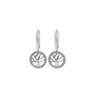 Felicita orecchino argento zirconi