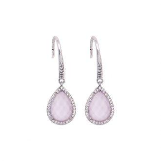 Romantic orecchino argento zircone
