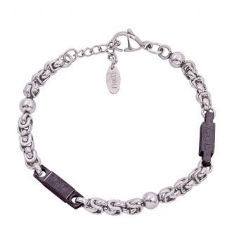 Bracciale Man Rock acciaio 4 You Jewels