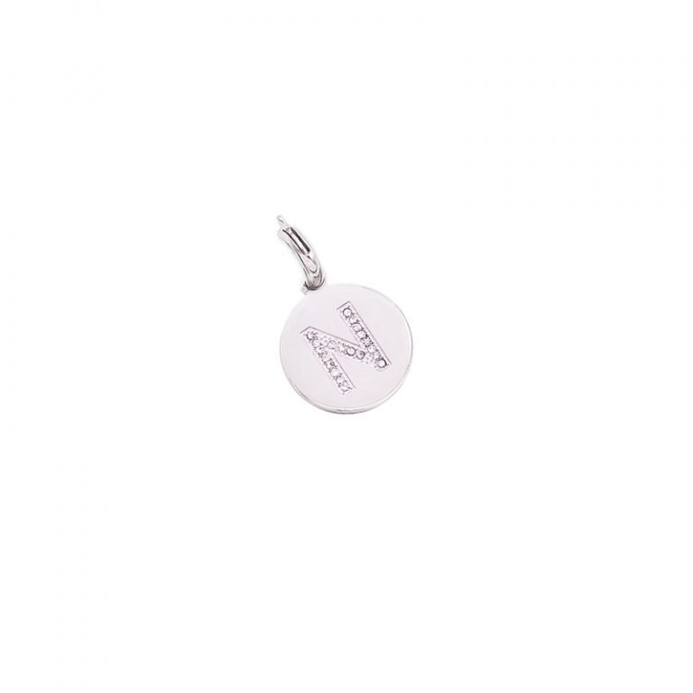 Charm Life Is Letters N CH-N For You Jewels