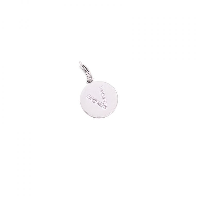 Charm Life is Letters V CH-V For You Jewels