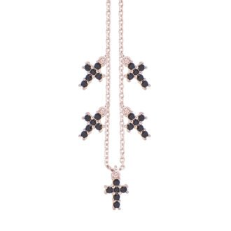 Collana Elly in argento rosè e zirconi N08900BP 4You Jewels