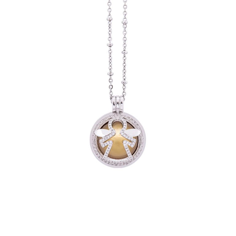 Lifesound-dolce-attesa-collana-chiama-angeli-Angelo-KOT-P10217 For You Jewels