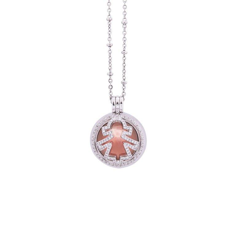 Lifesound-dolce-attesa-collana-chiama-angeli-Bambina-KOT-P10215 For You Jewels