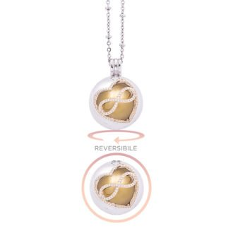 Lifesound-dolce-attesa-collana-chiama-angeli-Infinito-KOT-P10209GW For You Jewels