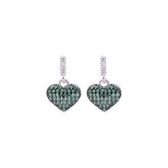 Orecchini Tamara in argento e zirconi E08907EM 4 You Jewels