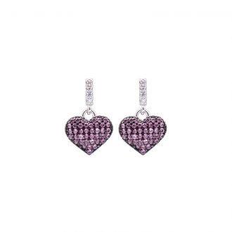 Orecchini Tamara in argento e zirconi E08907RB 4 You Jewels