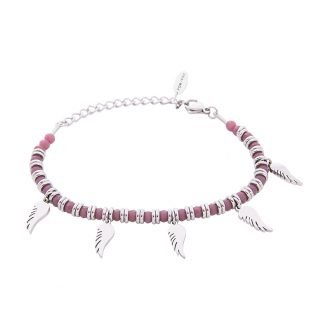 Bracciale Crystal in acciaio e cristalli Ali B11165 For You Jewels