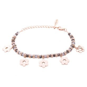 Bracciale Crystal in acciaio e cristalli Fiore B11169 For You Jewels
