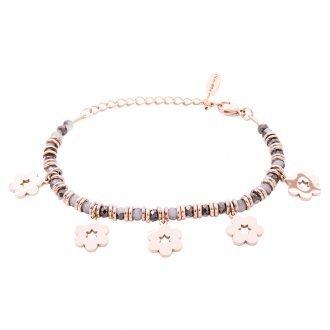 Bracciale Crystal in acciaio e cristalli Fiore B11169 For You Jewels