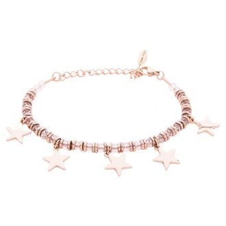 Bracciale Crystal in acciaio e cristalli Stella B11166 For You Jewels