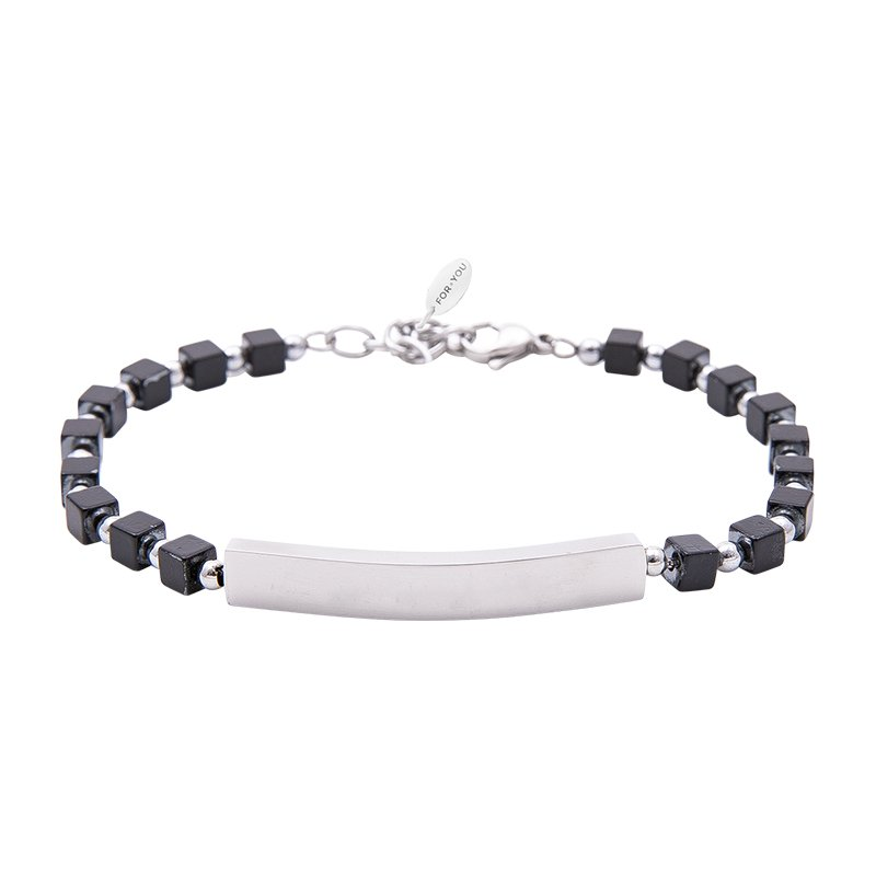 Bracciale Life is Papà in acciaio B10876 For You Jewels