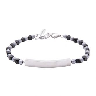 Bracciale Life is Papà in acciaio B10879 For You Jewels