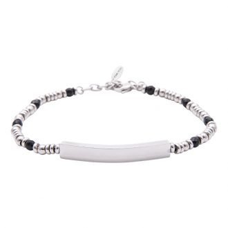 Bracciale Life is Papà in acciaio B10888 For You Jewels