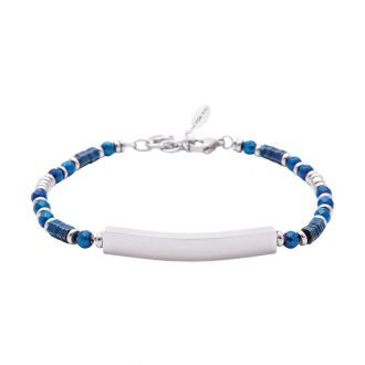 Bracciale Life is Papà in acciaio B10892 For You Jewels