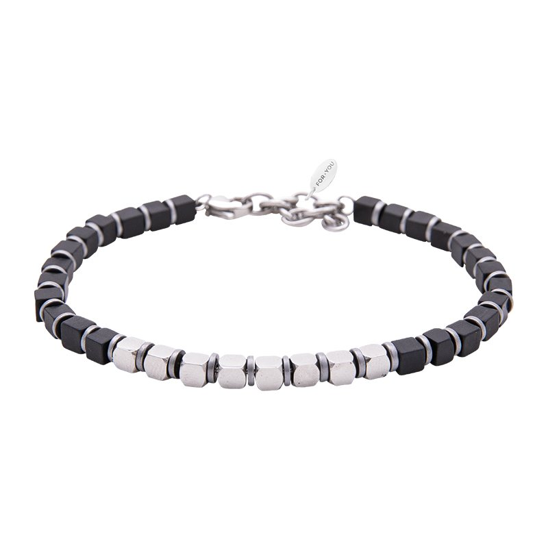 Bracciale Life is Papà in acciaio B11173 For You Jewels