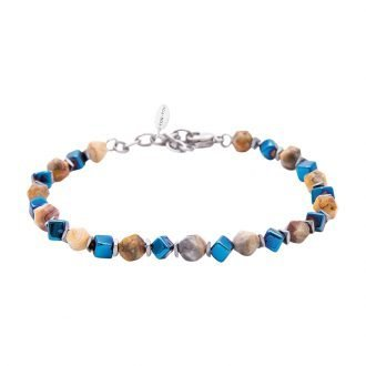Bracciale Life is Papà in acciaio B11175 For You Jewels
