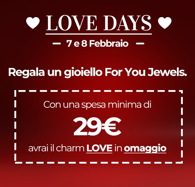Promo Love Days For You Jewels