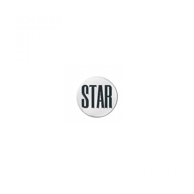 Mono Orecchino Mix and Match in acciaio - STAR E10906 For You Jewels