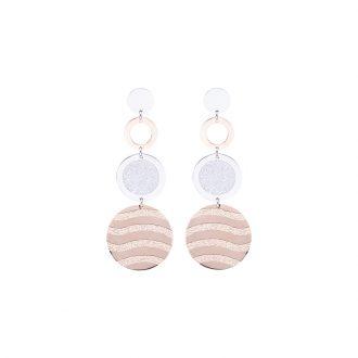 Chantel orecchini in acciaio con IP rosa E14317 4 You Jewels