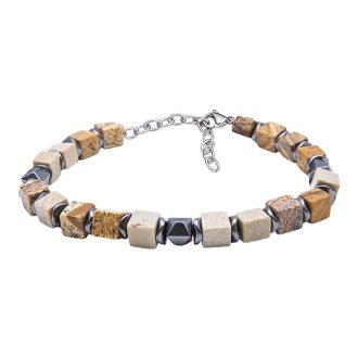 Man Identity bracciale in acciaio B10299 4 You Jewels