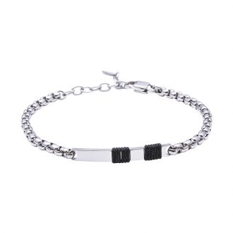 Man Identity bracciale in acciaio B14109 4 You Jewels