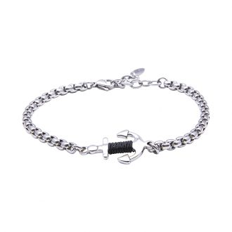 Man Identity bracciale in acciaio B14114 4 You Jewels