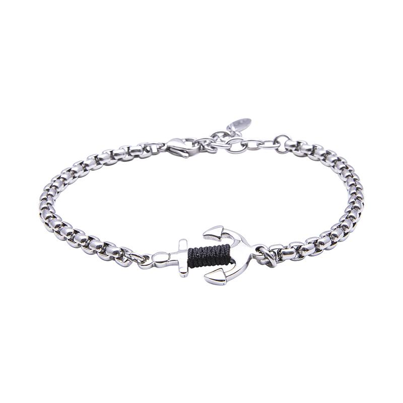 Man Identity bracciale in acciaio B14114 4 You Jewels
