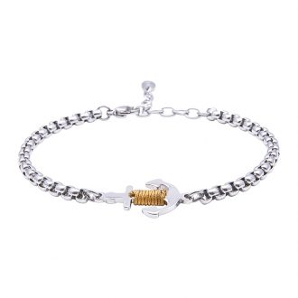 Man Identity bracciale in acciaio B14112 4 You Jewels