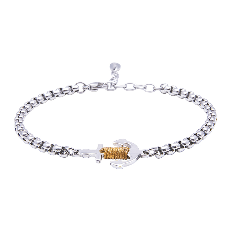 Man Identity bracciale in acciaio B14112 4 You Jewels