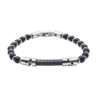 Man Identity bracciale in acciaio B14224 4 You Jewels