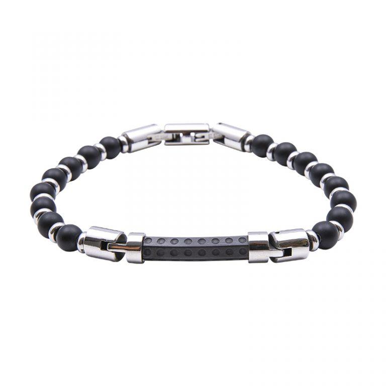Man Identity bracciale in acciaio B14224 4 You Jewels