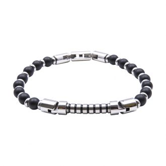 Man Identity bracciale in acciaio B14225 4 You Jewels