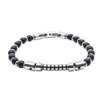 Man Identity bracciale in acciaio B14225 4 You Jewels