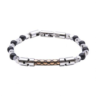 Man Identity bracciale in acciaio B14226 4 You Jewels