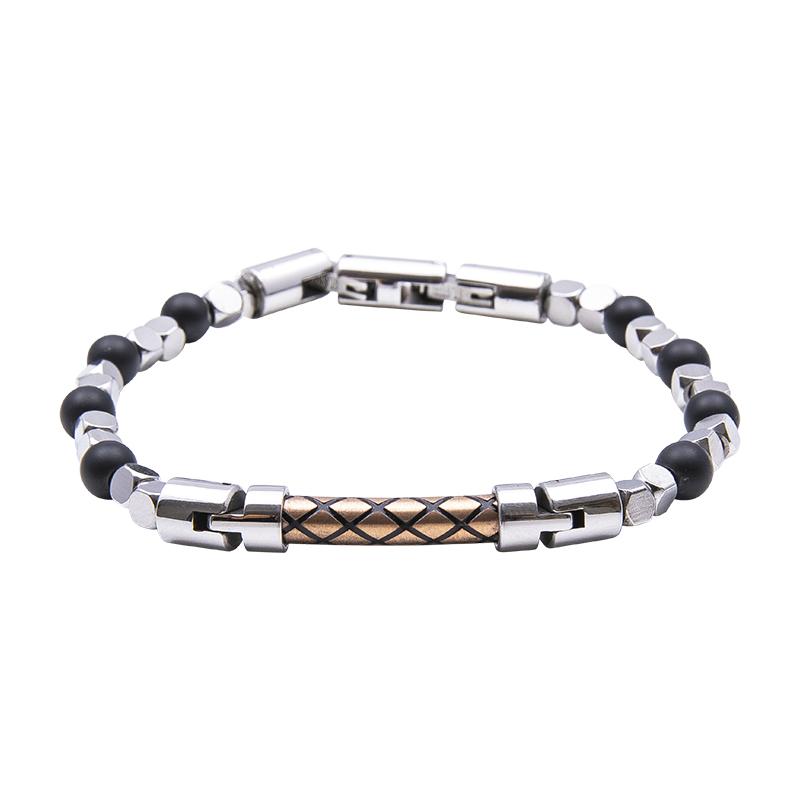 Man Identity bracciale in acciaio B14226 4 You Jewels