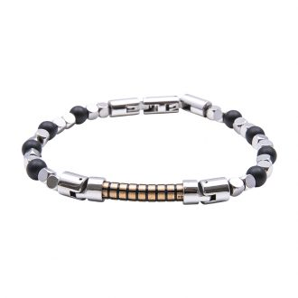 Man Identity bracciale in acciaio B14227 4 You Jewels