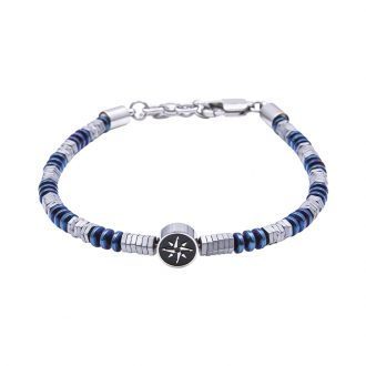 Man Identity bracciale in acciaio B14228 4 You Jewels