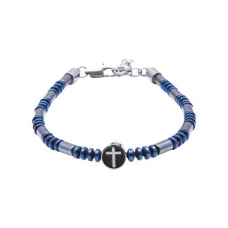 Man Identity bracciale in acciaio B14229 4 You Jewels