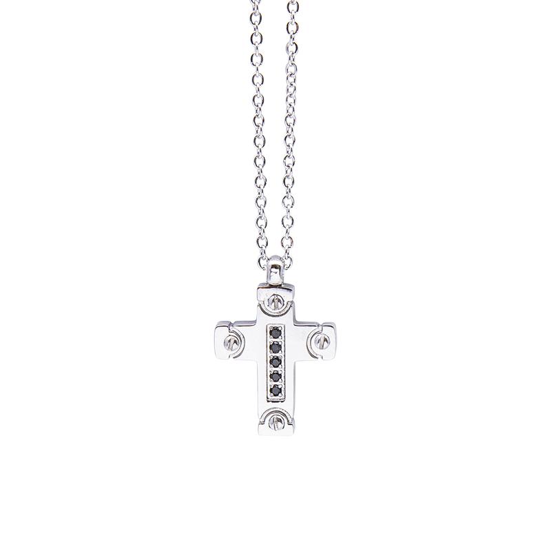 Man Identity collana in acciaio P10169 4 You Jewels