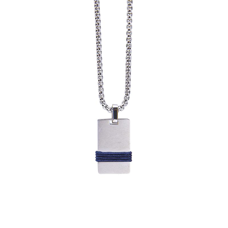 Man Identity collana in acciaio P14108 4 You Jewels