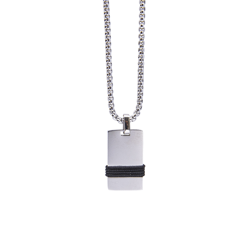 Man Identity collana in acciaio P14109 4 You Jewels