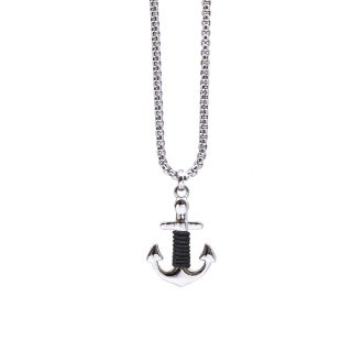 Man Identity collana in acciaio P14114 4 You Jewels