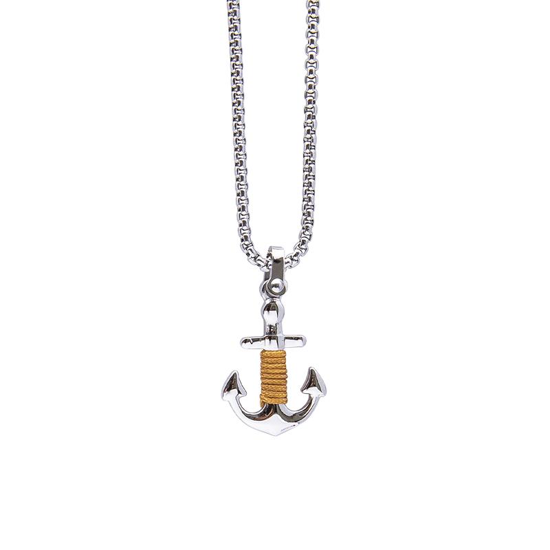 Man Identity collana in acciaio P14112 4 You Jewels