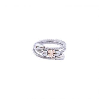 Alidia Anello in acciaio con IP rosa R14175PP 4 You Jewels