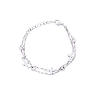 Eloisa bracciale in acciaio B15028 4 You Jewels