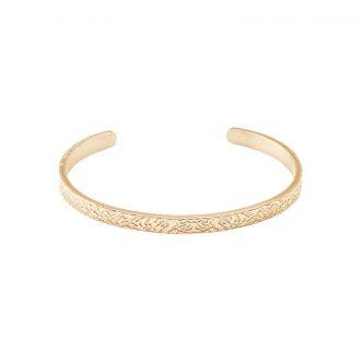 Gillian bracciale in acciaio con IP oro B15434 4 You Jewels