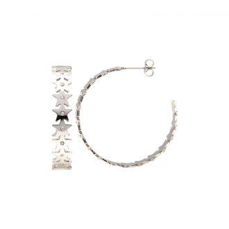 Hannah orecchini acciaio e cristalli E15219 4 You Jewels